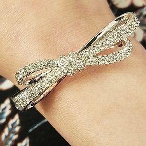 Kate Spade Tied Up Pave Crystal Bracelet